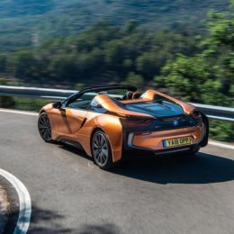 The new i8 Roadster