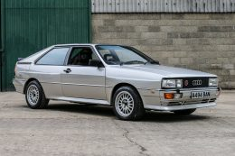 Stunning Audi Quattro Turbo goes up for charity auction