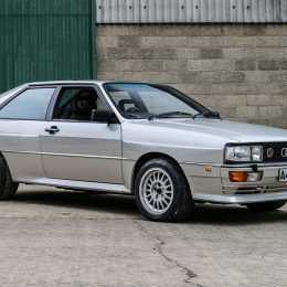 1984 Audi Quattro Turbo Charity Lot
