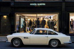 Aston Martin Works Heritage showroom opens in London's Mayfair