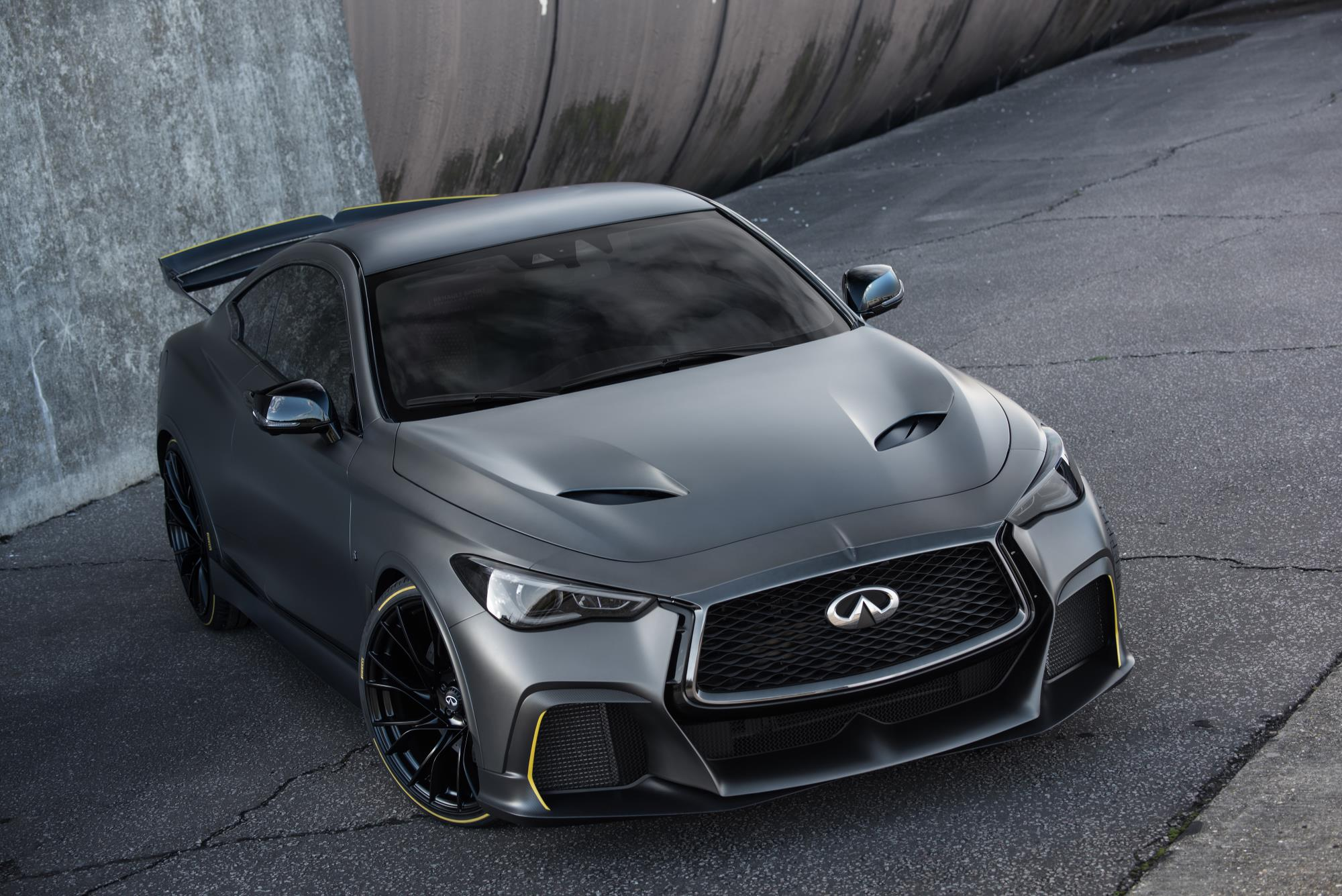The INFINITI Project Black S prototype
