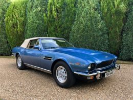 1979 Aston Martin V8 Volante previously owned by Roger Daltrey goes up for auction