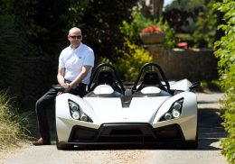 Elemental Motor Company have utilised an innovative carbon composite manufacturing technique