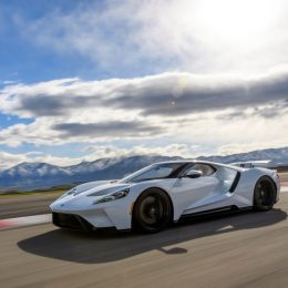 Ford GT has a top speed of 216mph