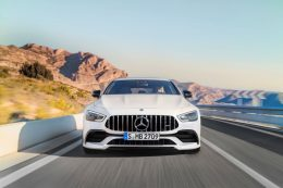 New Mercedes-AMG GT 4MATIC four-door Coupé specifications