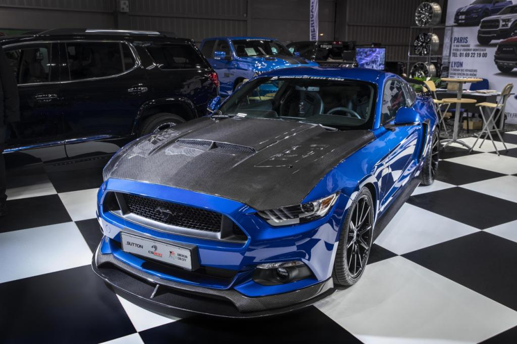 American Car City appointed by Clive Sutton as first official overseas distributor for bespoke Mustangs