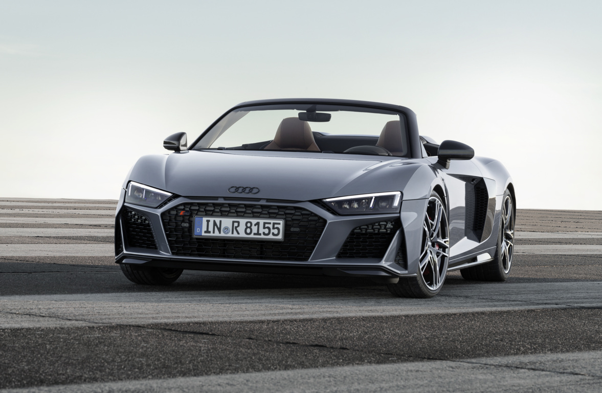 The Audi R8 gets extensive updates