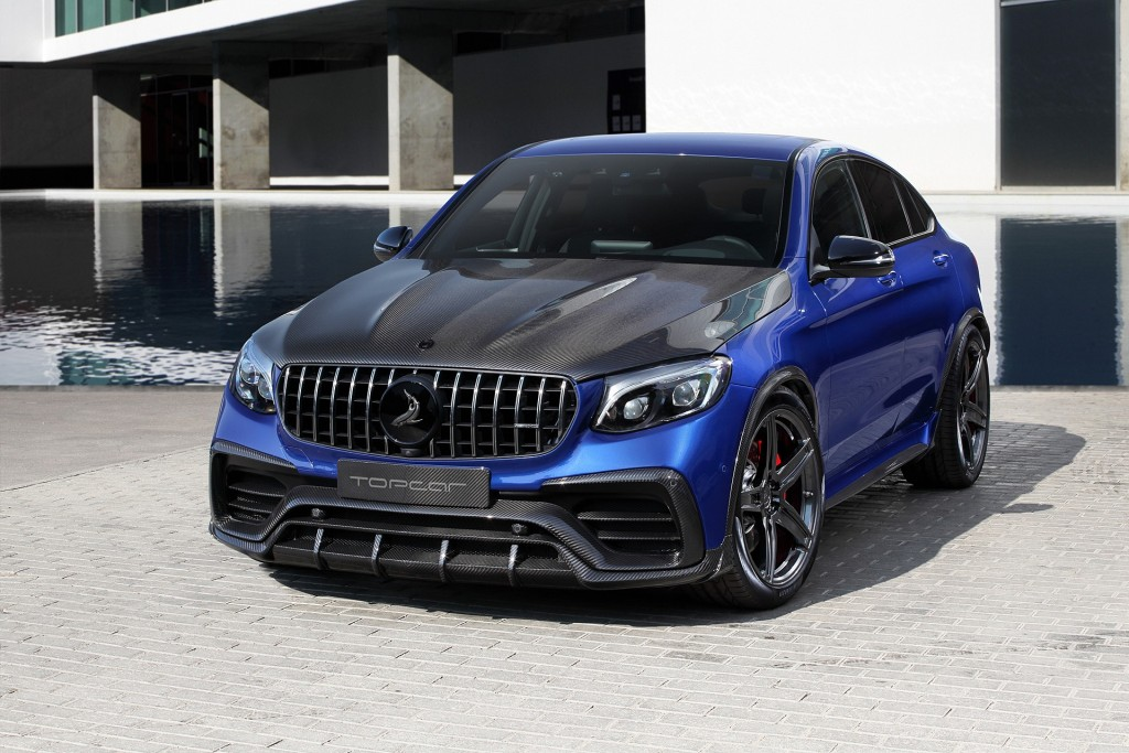 The Mercedes-Benz GLC Coupe INFERNO from TOPCAR