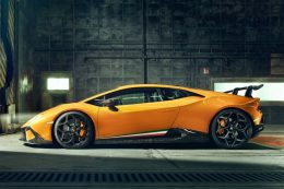 Exclusive NOVITEC sports program for the new Lamborghini Huracán Performante