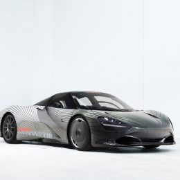 Introducing the Albert, McLaren's Speedtail Prototype