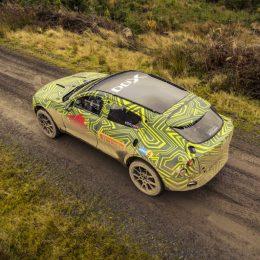 The Aston Martin DBX SUV Prototype