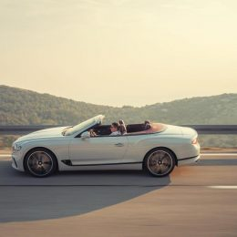 The all-new Bentley Continental GT convertible