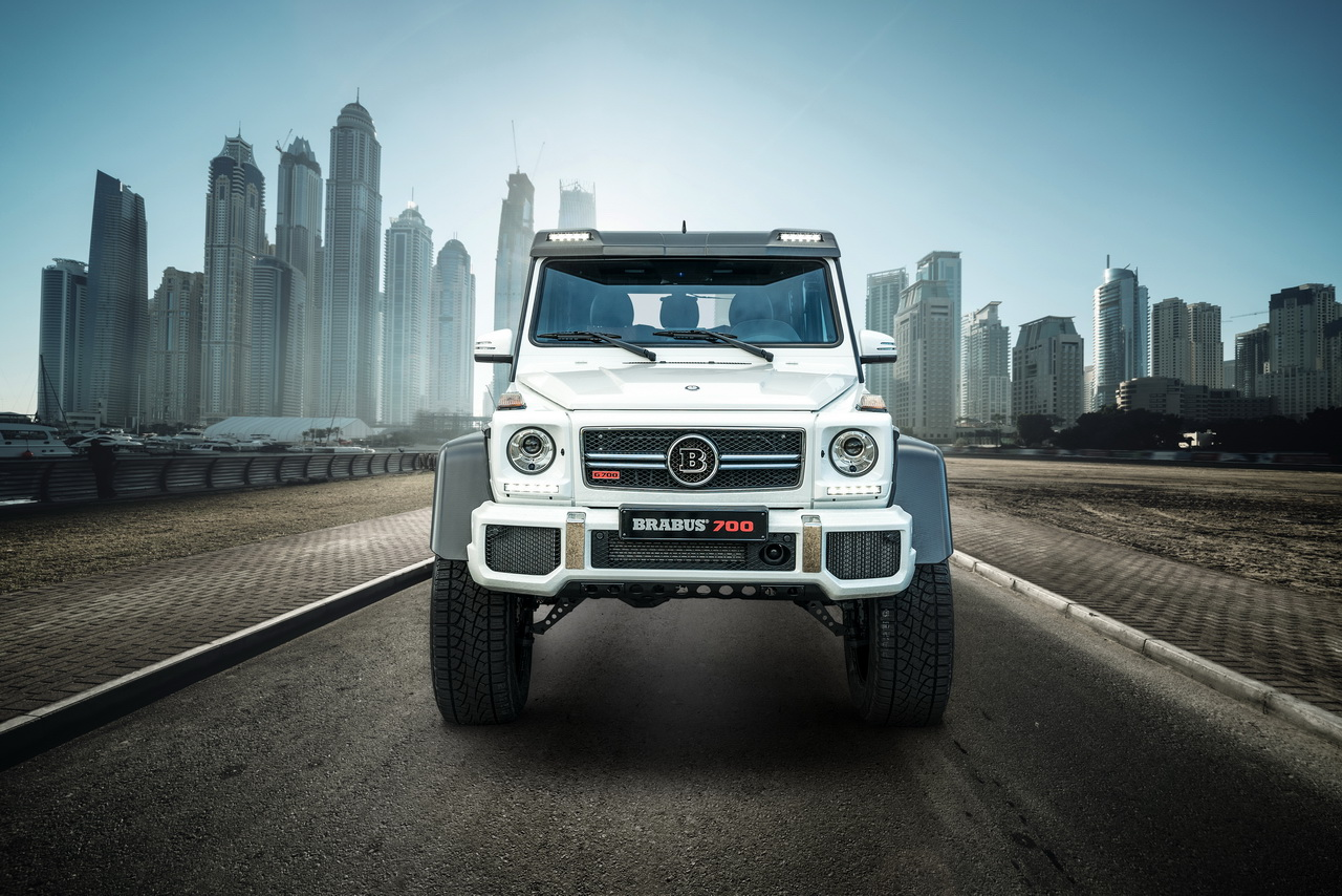 BRABUS 700 4x4² one of ten Final Edition