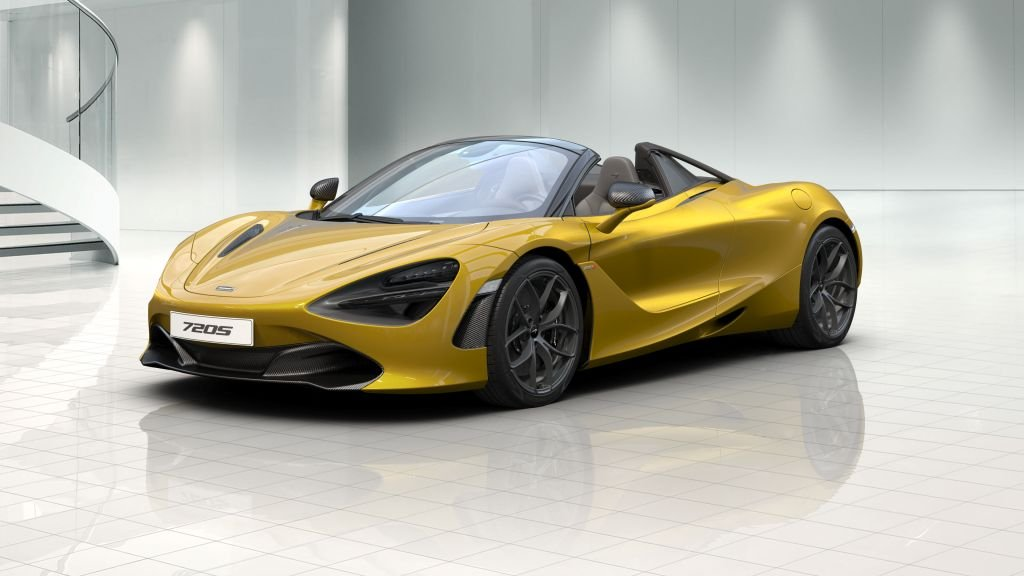 Design your personalised McLaren 720S Spider with the McLaren automotive digital configurator