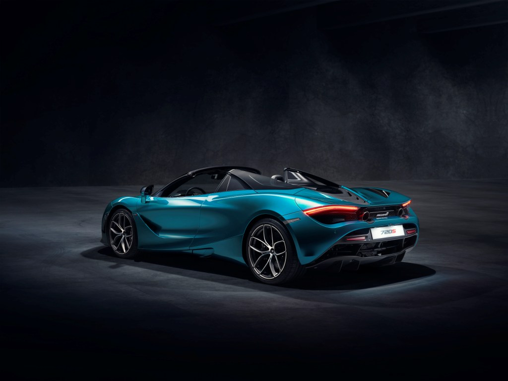 Introducing the new McLaren 720S Spider