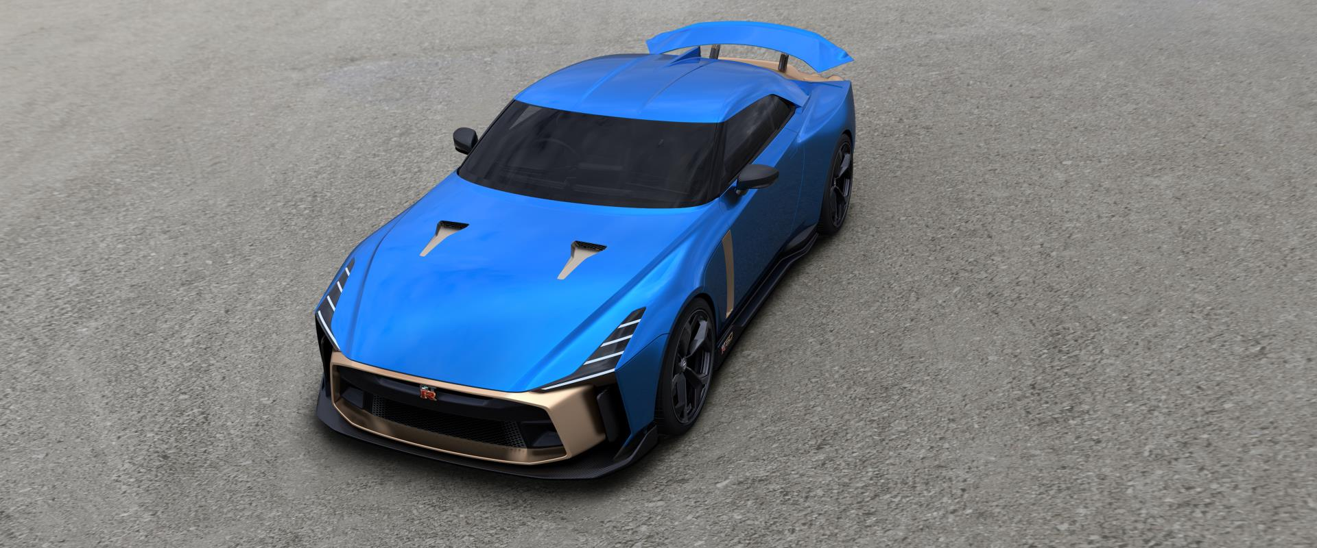 Nissan GT-R50 production version by Italdesign