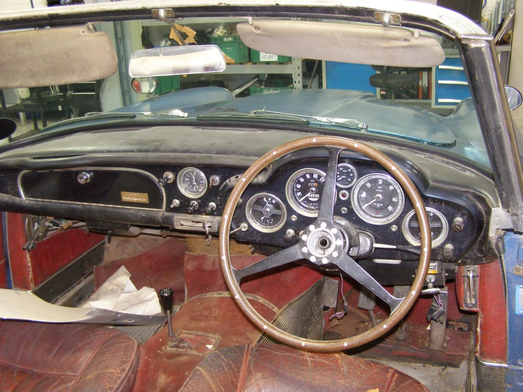 Aston Martin DB4 Convertible, chassis no. 1173 - awaiting restoration