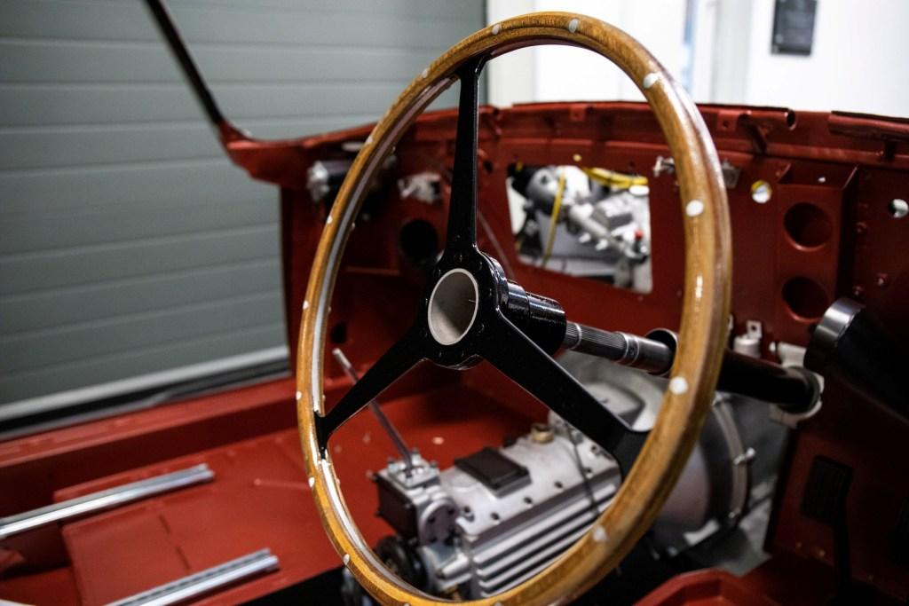 Aston Martin DB4 Convertible, chassis no. 1173 - awaiting restoration