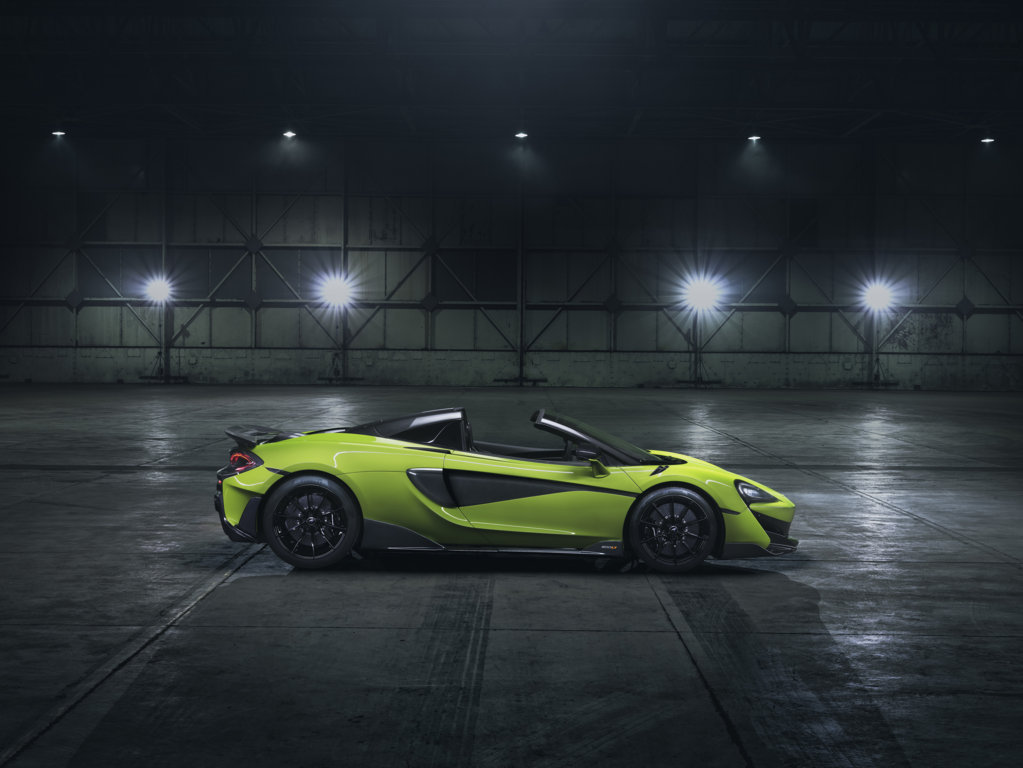 The new McLaren 600LT Spider