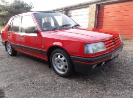 Peugeot 309 GTi to go under the hammer at Barrons