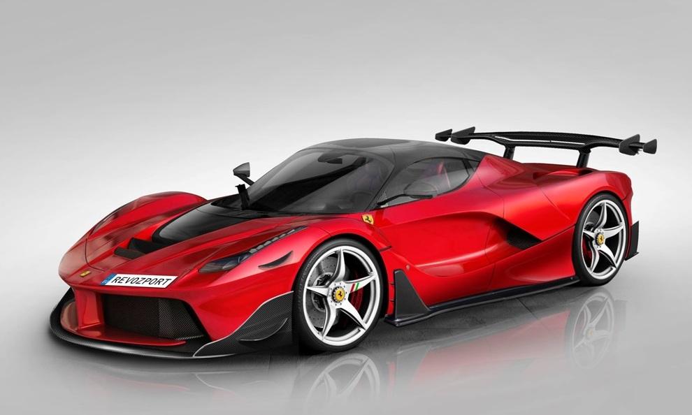 The RevoZport Ferrari LaFerrari Revoluzion aerokit