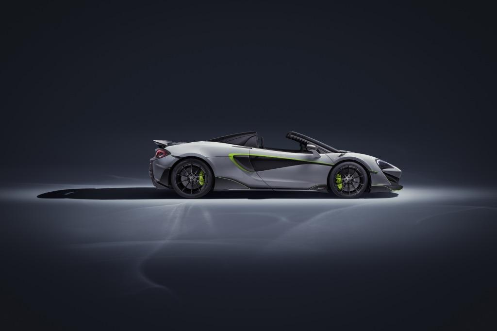 The McLaren 600LT Spider by MSO
