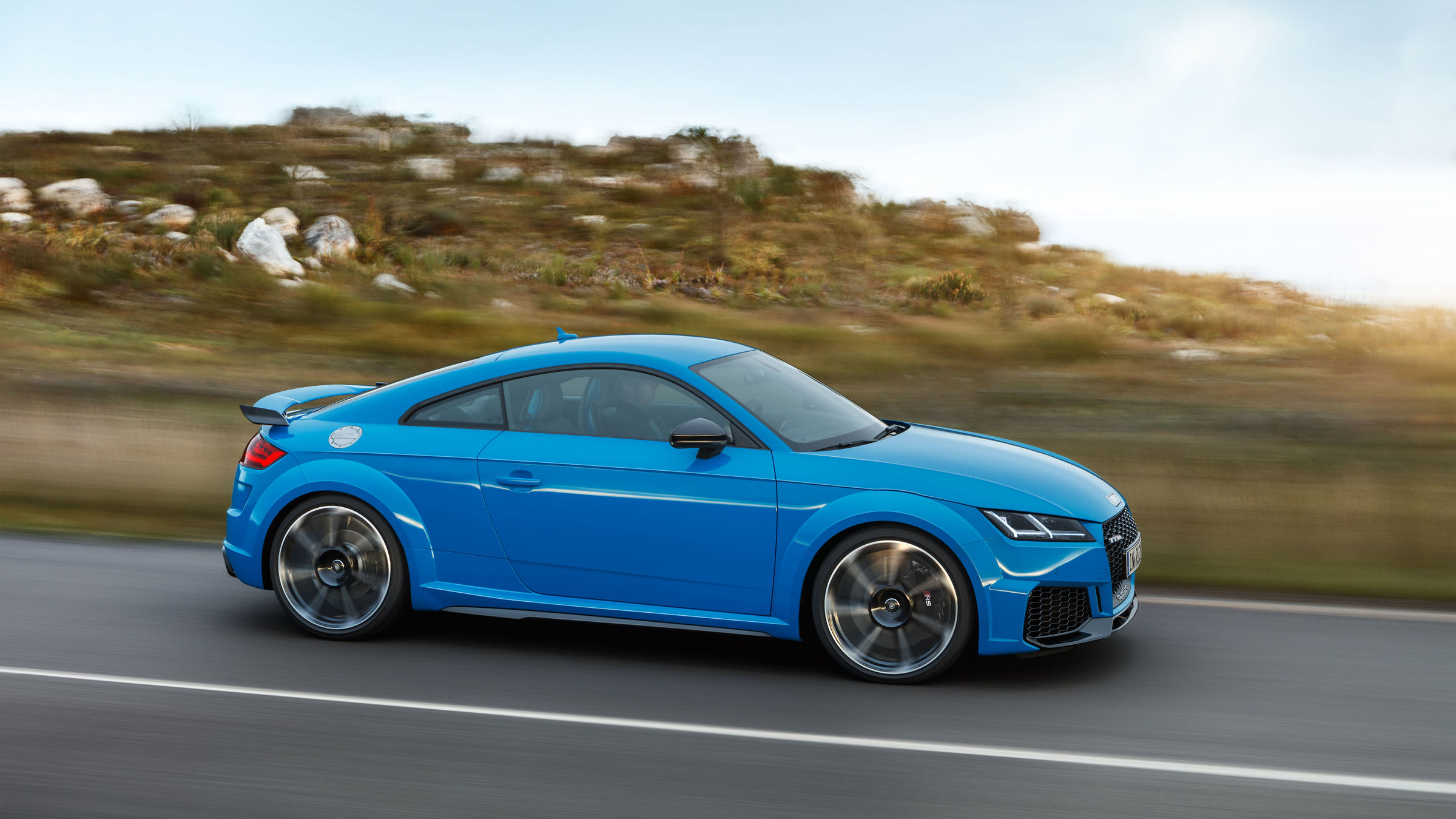 The new Audi TT RS ready for launch