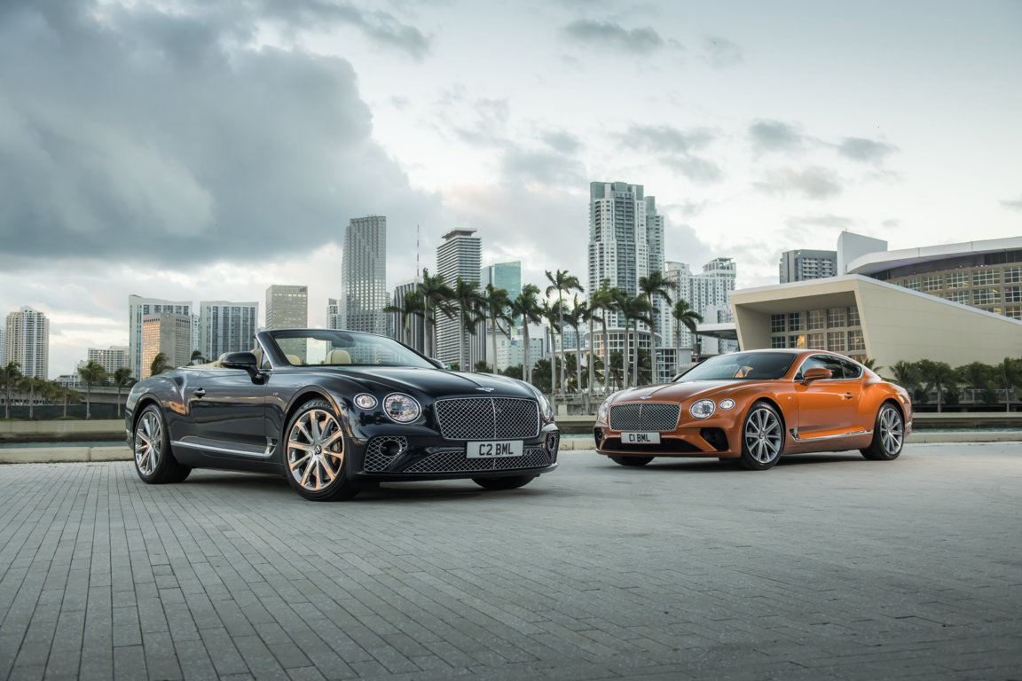 New Bentley Continental GT & GT Convertible V8