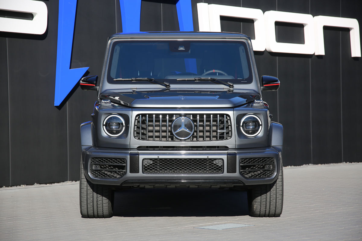POSAIDON performance enhancements for the Mercedes AMG G 63