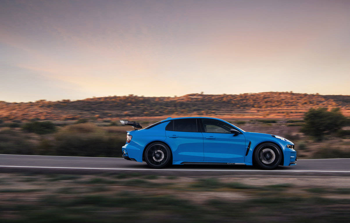 The Lynk & Co 03 Cyan Concept road car