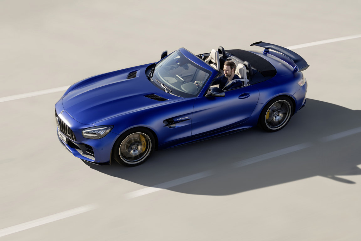 The new Mercedes-AMG GT R Roadster