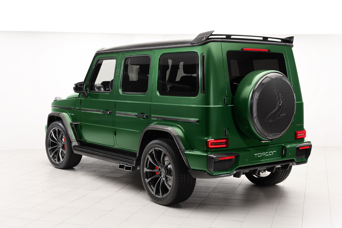 Top car Mercedes Benz G Class-Inferno