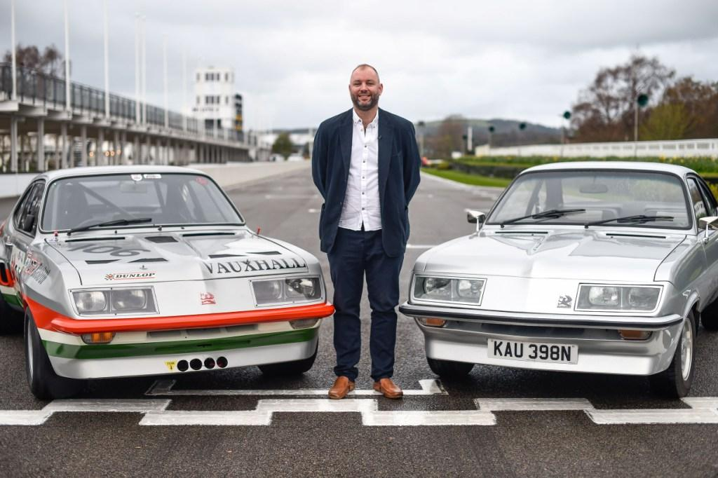 Marshall Junior reunited with iconic Vauxhalls at Goodwood