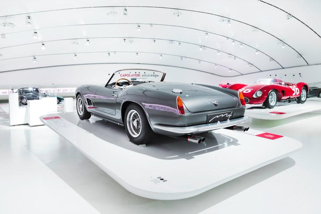 """Timeless Masterpieces"" exhibition at the Enzo Ferrari Museum"
