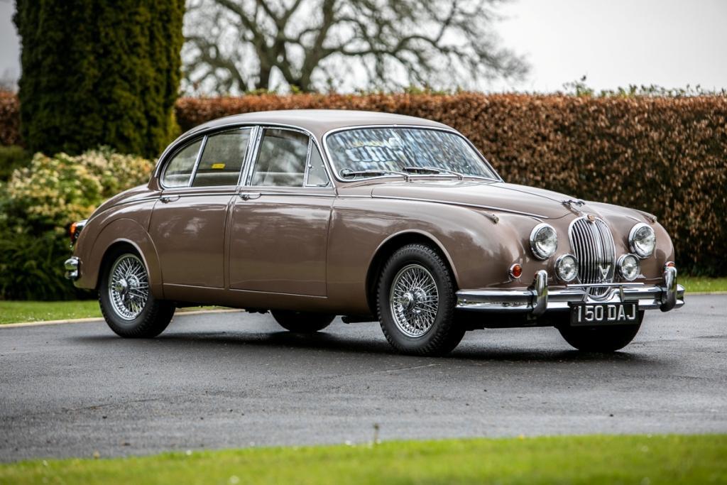 1962 Jaguar Mk2 3.8 Manual OD