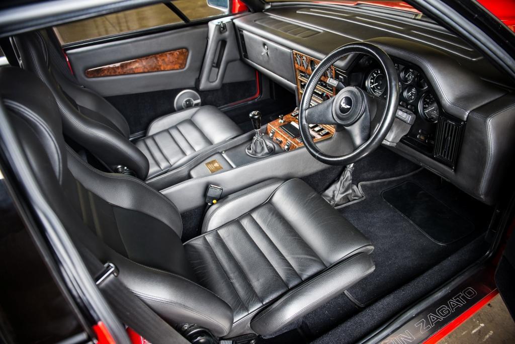1986 Aston Martin V8 Zagato prototype