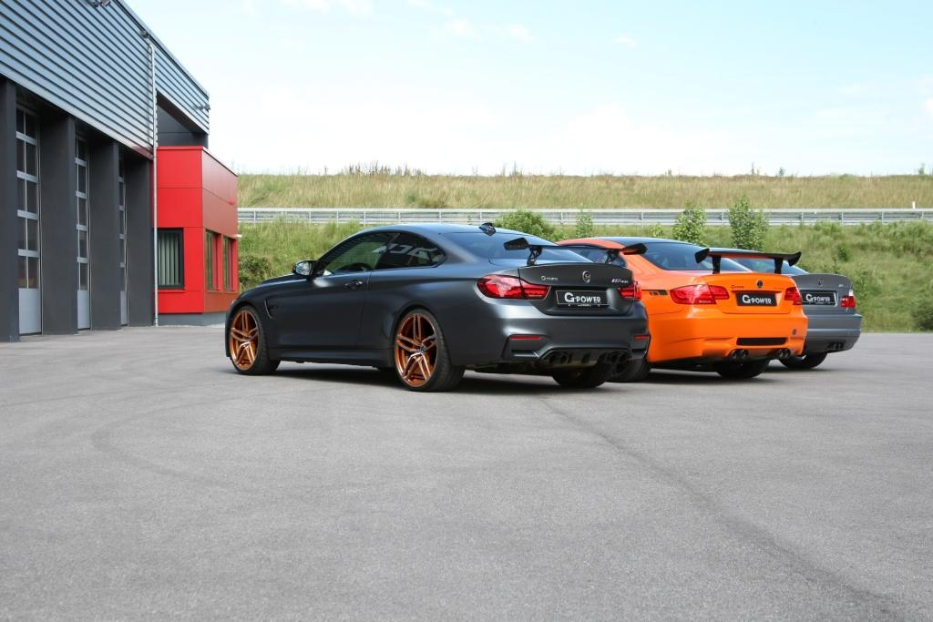 BMW M3 and M4 performance upgrades by G-POWER