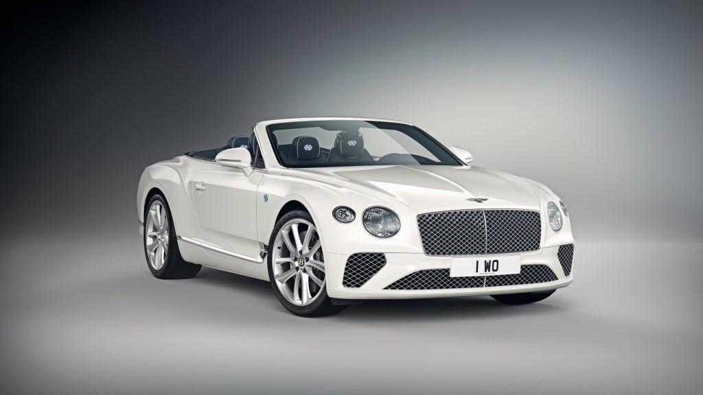 Bentley presents exclusive Bavarian themed Continental GT convertible by Mulliner