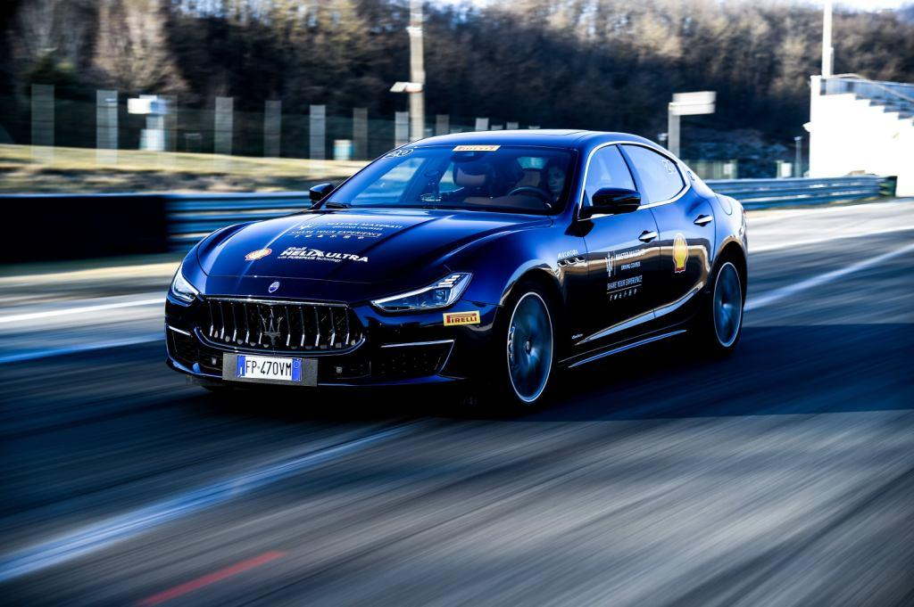 Master Maserati driving courses anniversary celebration