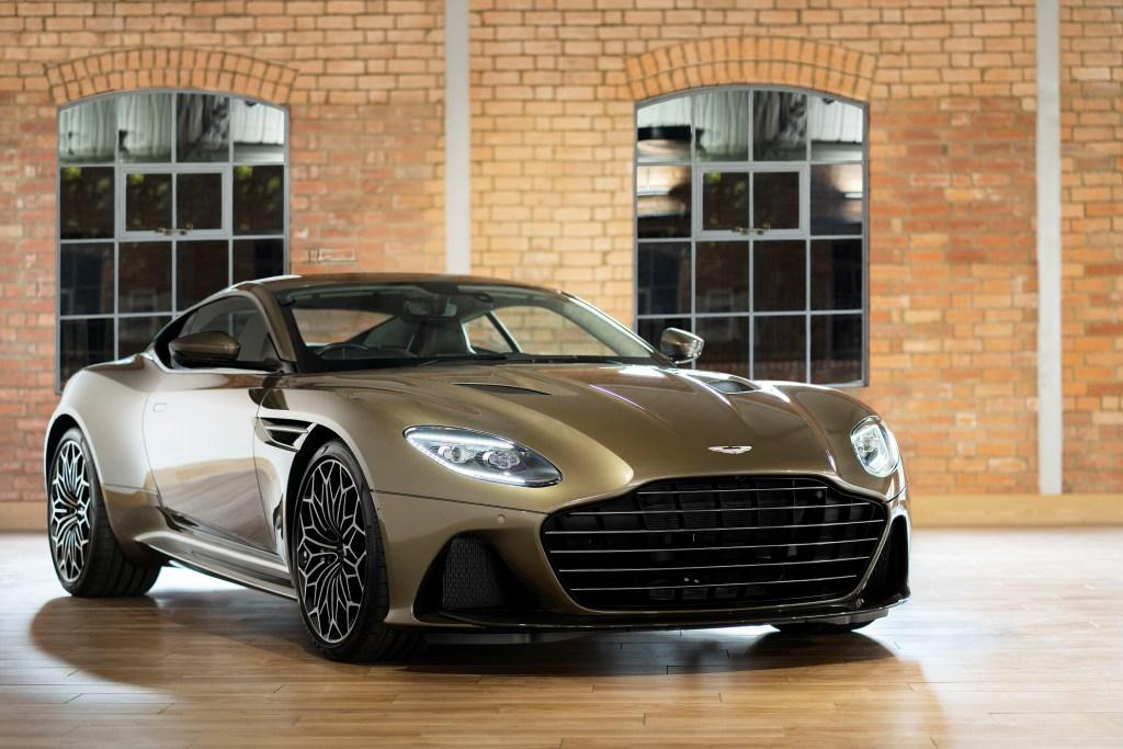 On Her Majesty's Secret Service DBS Superleggera special edition