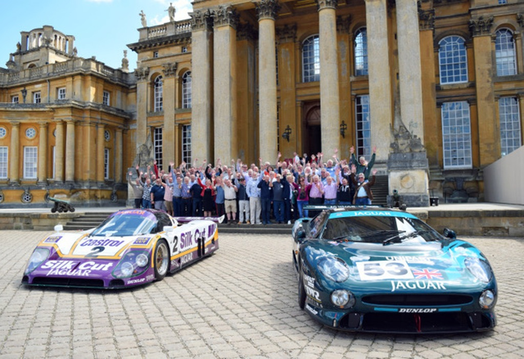 Over 70 members of staff and team members from Oxfordshire based TWR racing were reunited for the first time