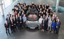 The 20,000th car built was a right-hand drive 600LT Spider in Chicane Grey