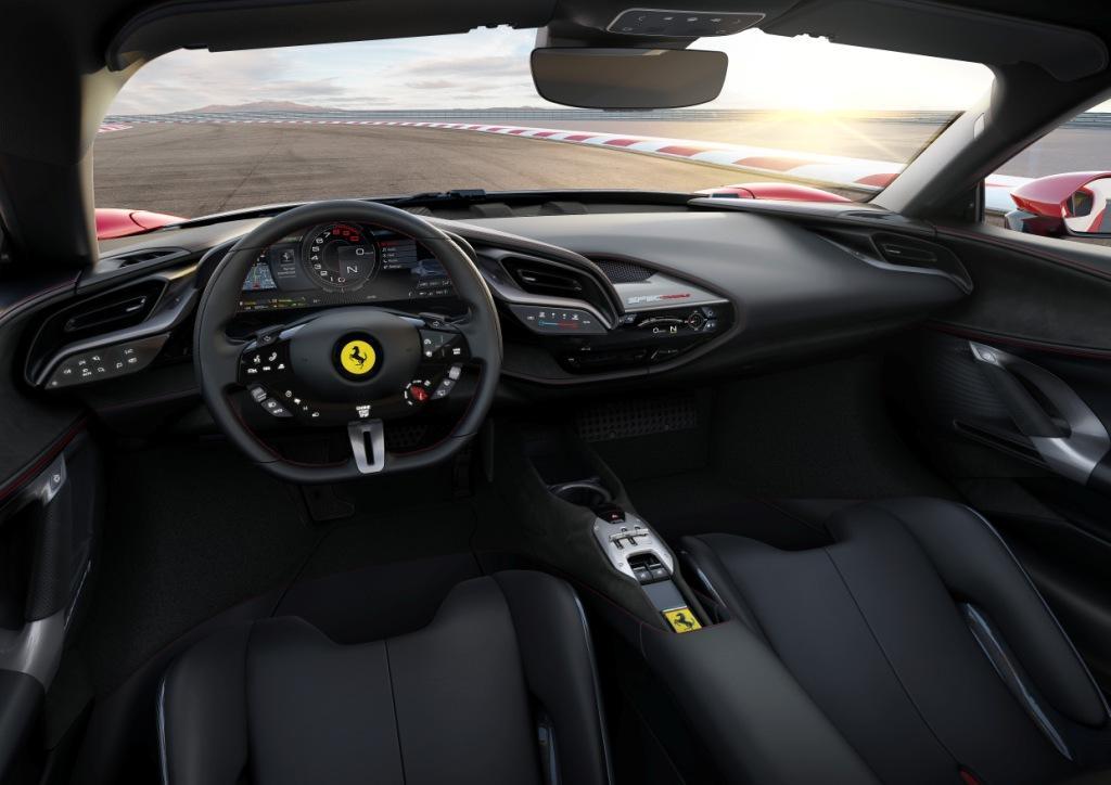 The Ferrari SF90 Stradale supercar