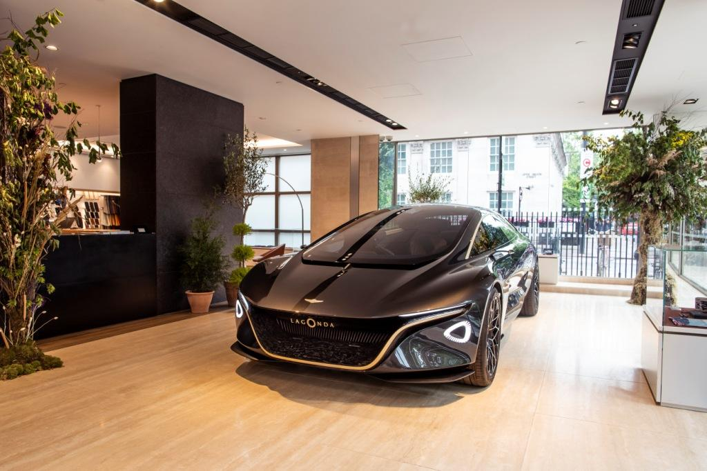 Aston Martin Lagonda showcases electric future