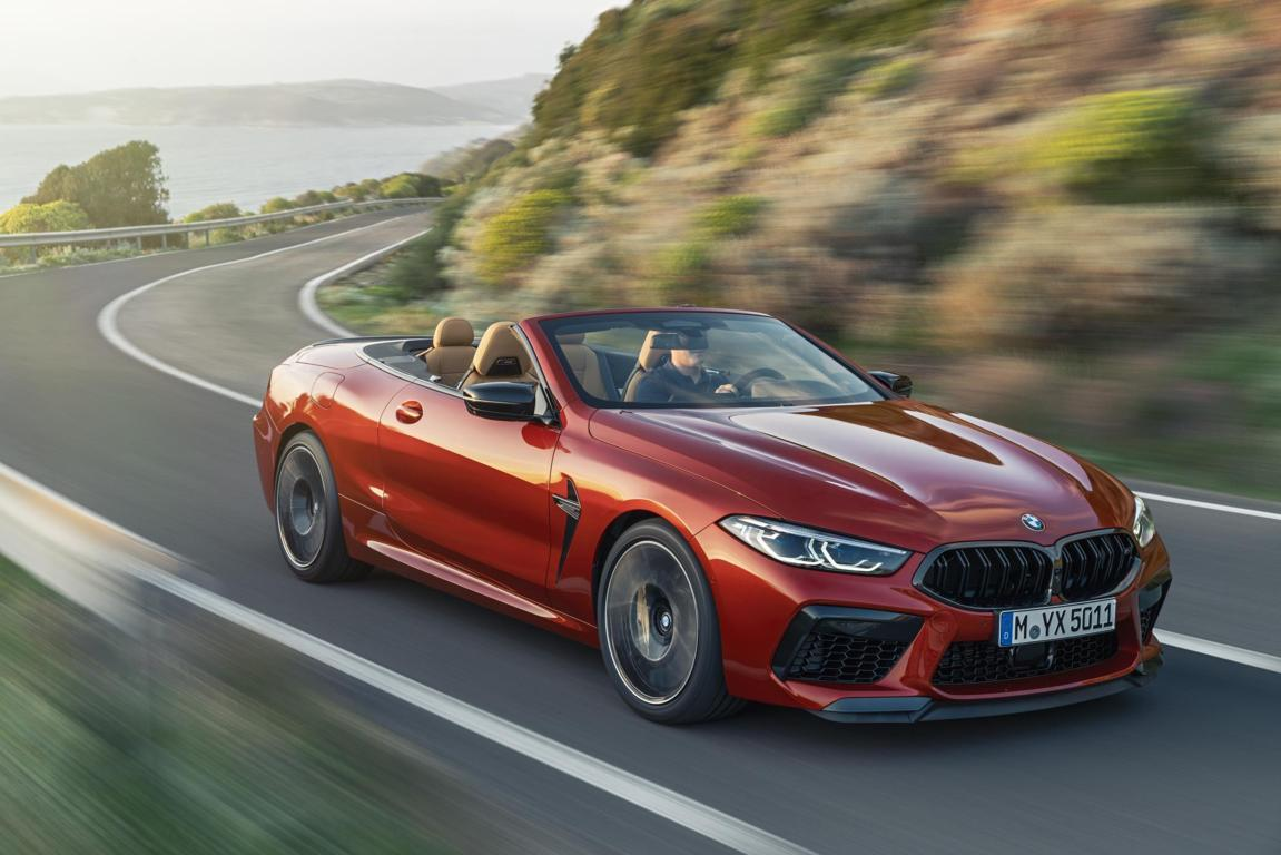 The all-new BMW M8 Competition Convertible