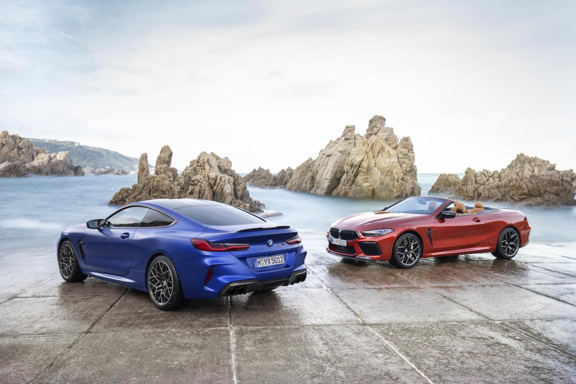 The all-new BMW M8 Competition Coupe and the all-net BMW M8 Convertible