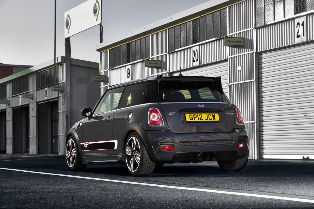 The new MINI John Cooper Works GP hits the Nordschleife