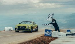 Continental GT Breaks Record at Pikes Peak