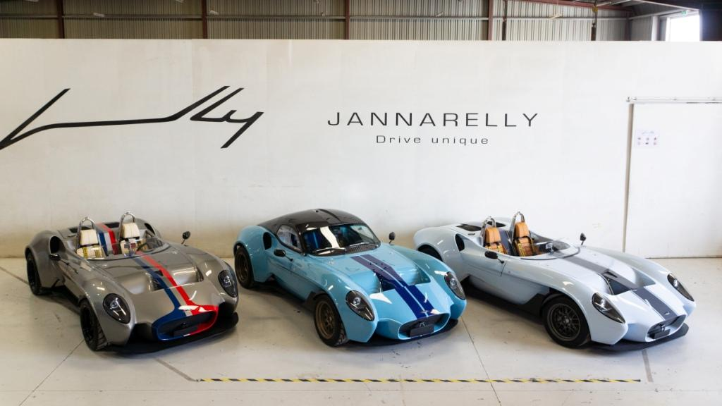 Jannarelly to launch retro style design-1 at Salon Prive