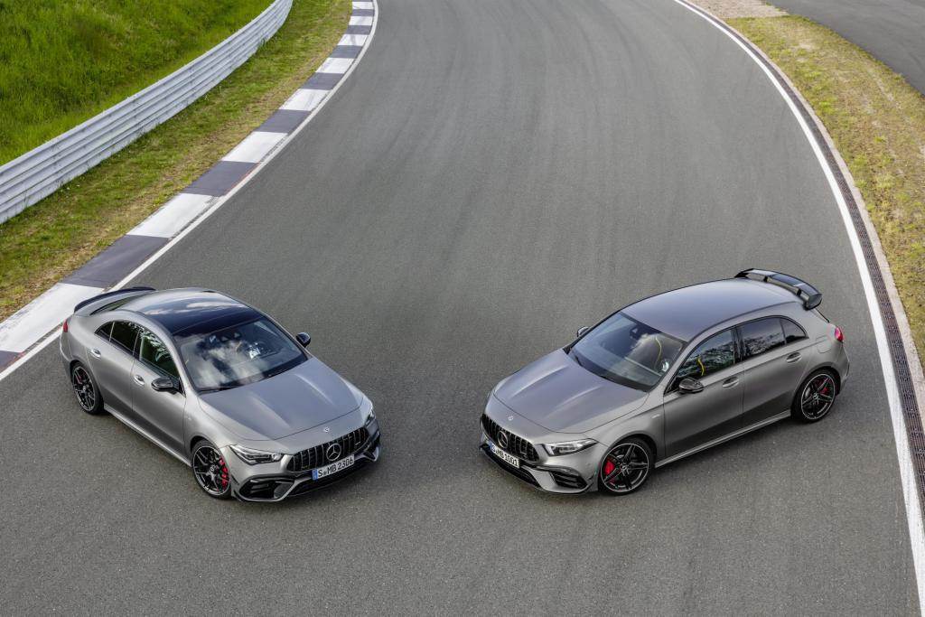 The new Mercedes-AMG CLA 45